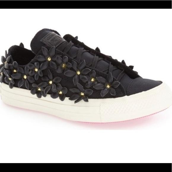 Converse Shoes | Converse Patbo Floral Sneakers | Poshmark